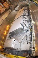 STS-112 Payloads in Atlantis' payload bay