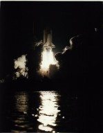 Night Launch of STS-67 and ASTRO-2