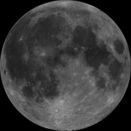 Nearside of Earth's Moon as Seen by the Clementine Spacecraft