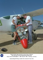 Spacewedge #3 Being Loaded onto Cessna for Drop Test