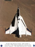 F-16XL Ship #2 first flight from above