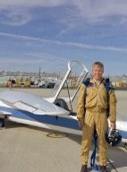 AD-1 with research pilot Richard E. Gray