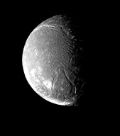 Ariel's Densely Pitted Surface