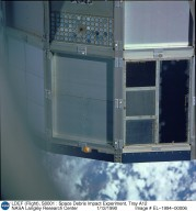 LDEF (Flight), S0001 : Space Debris Impact Experiment, Tray A12