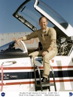 X-29 Research Pilot Rogers Smith