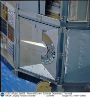 LDEF (Flight), S0069 : Thermal Control Surfaces Experiment, Tray A09