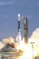 "Mars Exploration Rover ""Spirit"" Launches"