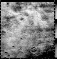 First Picture Clearly Showing Craters on Mars