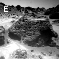 Sojourner Rover View of Souffle Rock