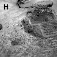 Sojourner Rover View of Platy Fragments near Pop-Tart