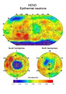 HEND Maps of Epithermal Neutrons