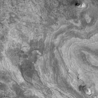 Western Candor Chasma - Layers exposed near the middle