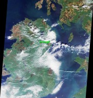 An Irish Tale: One City, Two Asteroids