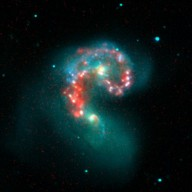 Fire within the Antennae Galaxies