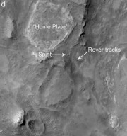 Mars Exploration Rover Landing Site at Gusev Crater