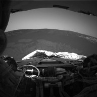 Rear View of Opportunity's Drive