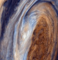 Exaggerated Color View of the Great Red Spot