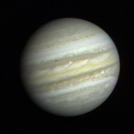 First Close-up Image of Jupiter from Voyager 1