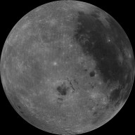 West Limb View of Earth's Moon as Seen by the Clementine Spacecraft