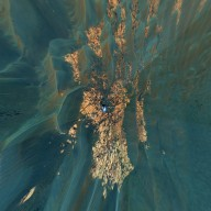 Bird's-Eye View of Opportunity at 'Erebus' (Vertical)