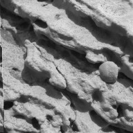 Mars Rock Formation Poses Mystery