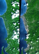 New NASA Imagery Sheds Additional Perspectives on Tsunami