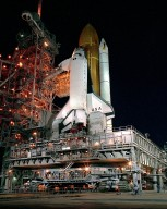 STS-28 Rollout