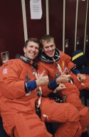 STS-107 Astronauts Rick Husband and Willie McCool