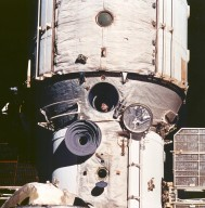 Cosmonaut Polyakov Watches Discovery's Rendezvous With Mir