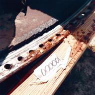 STS-51-L Recovered Debris (O-Ring Tracks on Right SRB Joint)