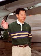 STS-99 Mission Specialist Mamoru Mohri of Japan waves before his departure from Patrick Air Force Base and return to Houston. With the postponement of the launch of STS-99 on Jan. 31, the crew have an opportunity for more training and time with their families. During the launch countdown, Endeavour's enhanced master events controller (E-MEC) No. 2 failed a standard preflight test. Launch was postponed and Shuttle managers decided to replace the E-MEC located in the orbiter's aft compartment. Launch controllers will be in a position to begin the STS-99 countdown the morning of Feb. 6 and ready to support a launch midto late next week pending availability of the Eastern Range. Known as the Shuttle Radar Topography Mission, it will chart a new course to produce unrivaled 3-D images of the Earth's surface, using two antennae and a 200-foot-long section of space station-derived mast protruding from the payload bay. The result could be close to 1 trillion measurements of the Earth's topography. Besides contributing to the production of better maps, these measurements could lead to improved water drainage modeling, more realistic flight simulators, better locations for cell phone towers, and enhanced navigation safety