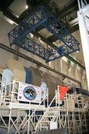 The Neurolab payload for STS-90, scheduled to launch aboard the Shuttle Columbia from Kennedy Space Center (KSC) on April 2, 1998, is ready for processing after being placed in its workstand in the Operations and Checkout Building at KSC. Investigations during the Neurolab mission will focus on the effects of microgravity on the nervous system. Specifically, experiments will study the adaptation of the vestibular system, the central nervous system, and the pathways that control the ability to sense location in the absence of gravity, as well as the effect of microgravity on a developing nervous system. The crew of STS-90 will include Commander Richard Searfoss, Pilot Scott Altman, Mission Specialists Richard Linnehan, Dafydd (Dave) Williams, M.D., and Kathryn (Kay) Hire, and Payload Specialists Jay Buckey, M.D., and James Pawelczyk, Ph.D