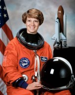 KENNEDY SPACE CENTER, FLA. - Official portrait of Eileen Collins, mission commander on STS-114.