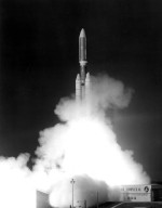 KENNEDY SPACE CENTER, FLA. -- Voyager-1 was launched atop Titan/Centaur-6 at Launch Complex 41 at 8:56 a.m. EDT today, joining its sister spacecraft, Voyager-2, on a mission to the outer planets.