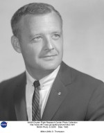 Milton O. Thompson was hired as an aeronautical research scientist at the National Advisory Committee for Aeronautics? High-Speed Flight Station, Edwards, California, on March 19, 1956, becoming a research pilot in January 1958. During his 37-year career at what became the National Aeronautics and Space Administration?s Dryden Flight Research Center in 1976, Milt managed several research programs and flew many research flights. One of Milt?s first research projects, after he became a research pilot, was a program to investigate the feasibility of obtaining substantial amounts of laminar flow on an airfoil at supersonic speeds. The testbed aircraft was an F-104 with one wing covered with a fiberglass glove that served as the test section for the experiment. Next was the Air Launched Sounding Rocket (ALSOR) research program using an F-104 with a rocket launcher installed on it. The intent of the program was to release a balloon from an air launched rocket at over 1,000,000 feet altitude (approximately 190 miles) and then measure its rate of descent to determine air density. In 1959, Thompson was assigned to the Boeing X-20 Dyna-Soar program as a pilot-consultant. The X-20 program was scheduled to launch a human into Earth orbit and recover with a horizontal ground landing. The program was canceled before construction of the vehicle began. Milt became interested in the Rogallo-wing concept, ?Parawing?, for spacecraft reentry. The best way to acquire experience, of course, was by building and flying a Paraglider Research Vehicle (Paresev). After ground tows to demonstrate controllability with Milt in the cockpit, he made the first flight aloft on March 12, 1962. On August 16, 1963 Thompson became the first person to fly a lifting body, the lightweight M2-F1. The plywood and steel-tubing prototype was flown as a glider after releasing from an R4D tow plane. He flew it a total of 47 times, and also made the first five flights of the all-metal M2-F2 lifting body, beginning