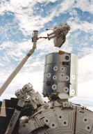 STS-100 Onboard Photograph-International Space Station Remote Manipulator System
