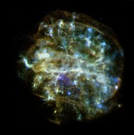 Chandra X-Ray Observatory Image of a Massive Star Explosion