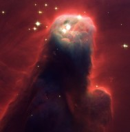 Hubble Space Telescope of Cone Nebula (NGC 2264)
