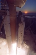 STS-102 Space Shuttle Discovery Liftoff