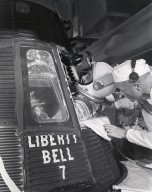 Astronaut Virgil Grissom Entering Liberty Bell 7