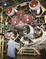 Installation of H-1 Engines to Saturn IB S-IB Stage