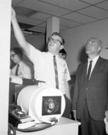 Dr. von Braun in Space Sciences Laboratory