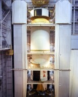 Assembling the Saturn V S-IC (First) Stage at the Michoud Assembly Facility