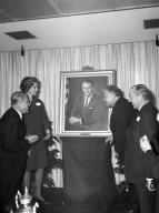 von Braun Presented With Portrait