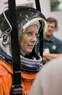 STS-118 Astronaut Tracy Caldwell During Training