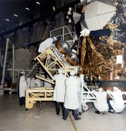 Installation of the Lunar Roving Vehicle in the Lunar Module
