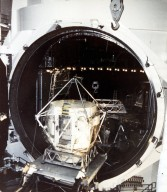 Apollo Telescope Mount in the Thermal Vacuum Chamber