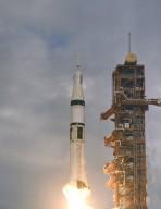 Saturn IB SA-206 (Skylab 2) Launch