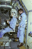 Spacelab-1 Mission (STS-9) Onboard Photograph