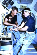 Activities During Spacelab-1 Mission
